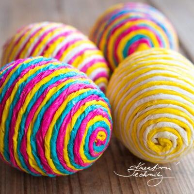 Velikonoční inspirace pro tvoření s dětmi: velikonoční vajíčka