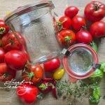 Zavařování rajčat. Zavařená rajčata. Zavařování rajčat ve vlastní šťávě. Rajčata zavařená ve vlastní šťávě. Zavařování rajčat recepty.