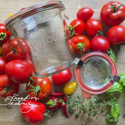 Canning tomatoes recipes – food preserving