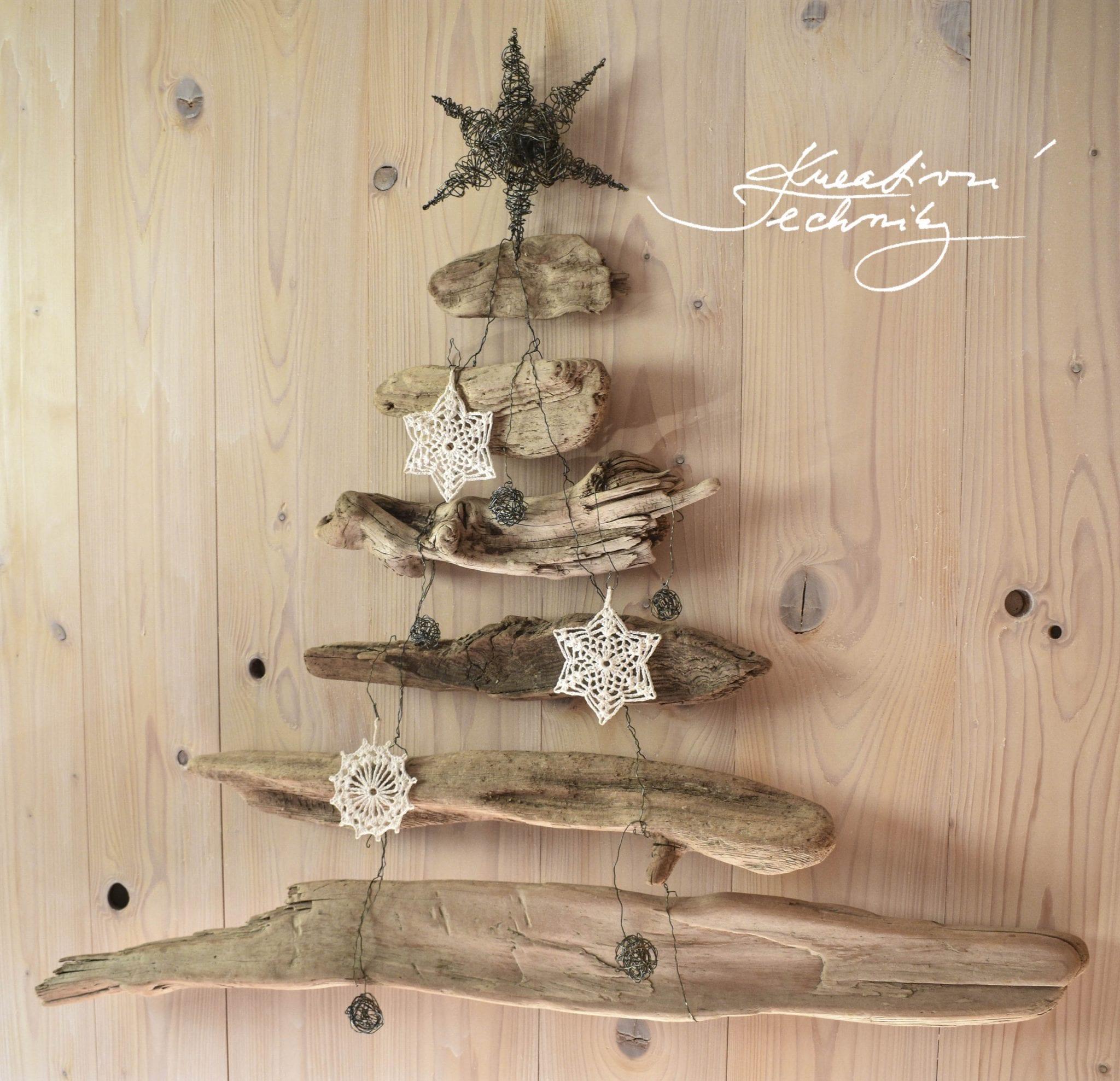 Vánoční stromeček, hygge styl. Vánoční dekorace
