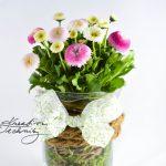 Jarní dekorace z květin