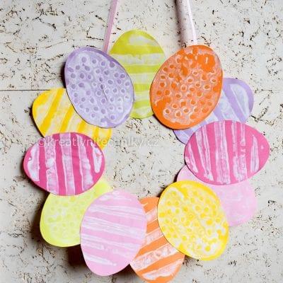 Velikonoční věneček na dveře