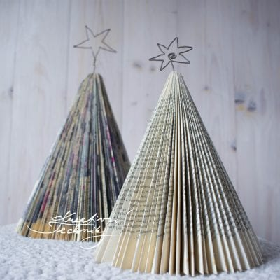 Paper crafts: Christmas tree DIY