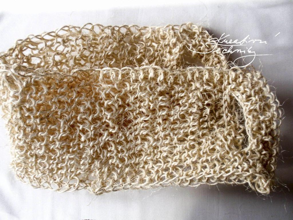 Free knitting patterns. Knitting patterns for beginners. Step by step tutorial. Sisal DIY. Sisal crafts.