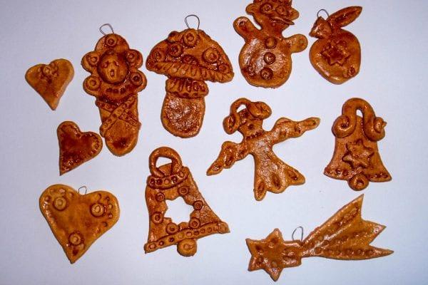 Návod na vánoční ozdoby ze slaného těsta
