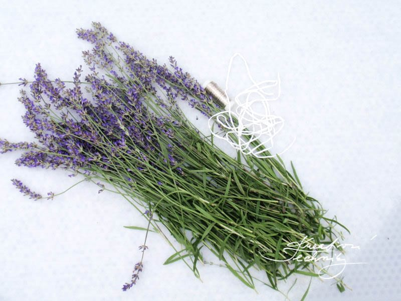 How to make lavender decorations? Making of lavender decoration. Lavender crafts.