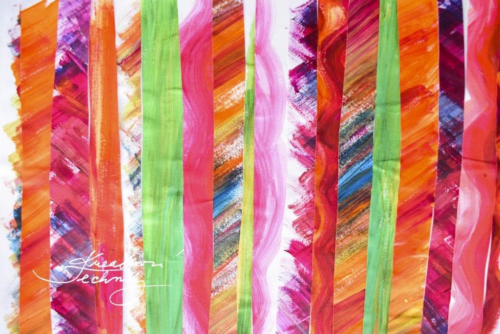 Velikonoční dekorace z papíru. Velikonoční zajíček. Velikonoční obrázek. Výroba velikonoční dekorace z papíru. DIY. Kreativní tvoření.