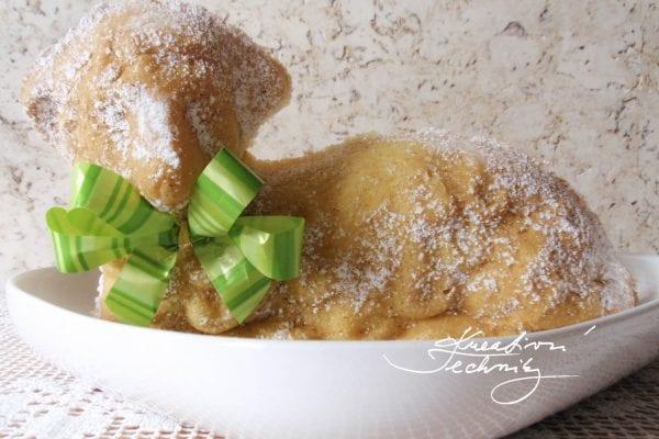 Velikonoční beránek: recept z třeného těsta