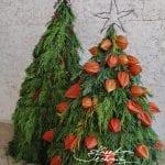 Venkovní vánoční dekorace domácí výroba, vánoční floristika, vánoční inspirace...