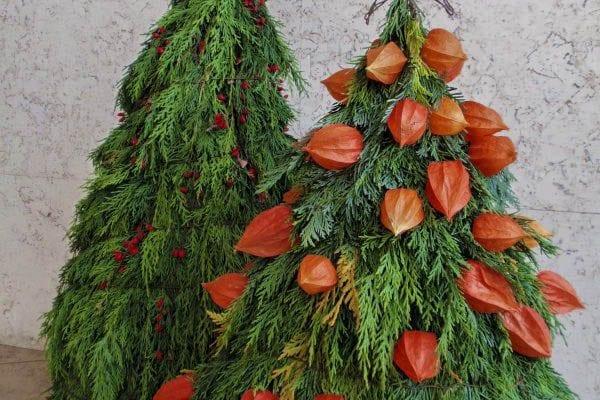 Venkovní vánoční dekorace