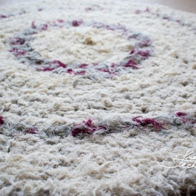 Crochet carpet: pattern