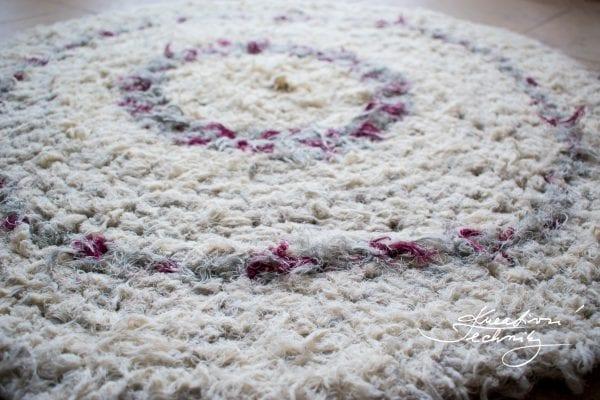Háčkovaný koberec – návod na výrobu