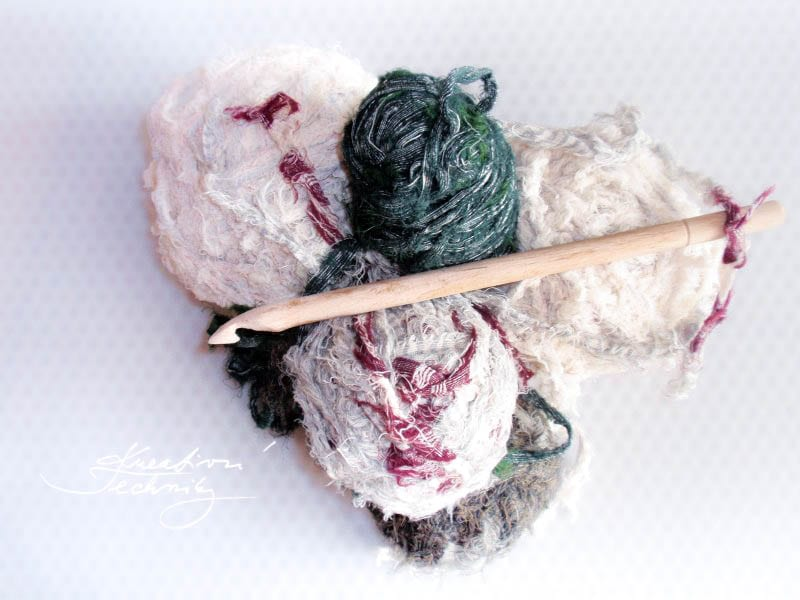 Recyclation - from old to new . Upcycle fabric from old clothers. We will create beautiful crochet rug. Rag rug making.