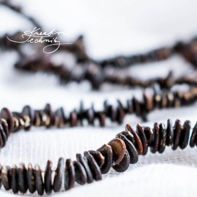 Natural seeds jewelry: Create yourself a beautiful original necklace!