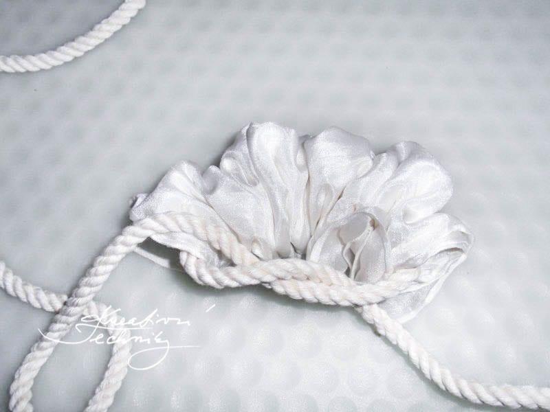 Jak batikovat? Batikovaná hedvábná šála. Shibori, batika, barvení látek, barvení hedvábí. DIY návody, nápady, inspirace
