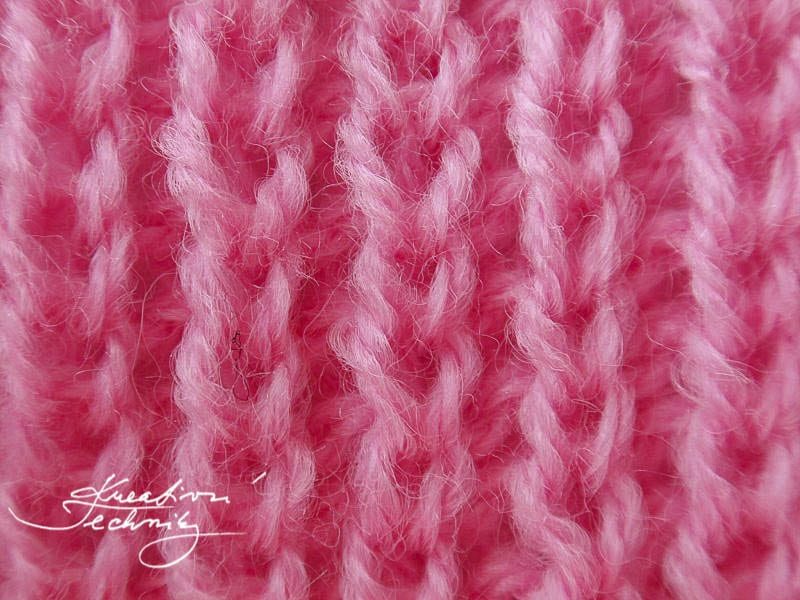 Návody na ruční pletení - Pružný vzor I.