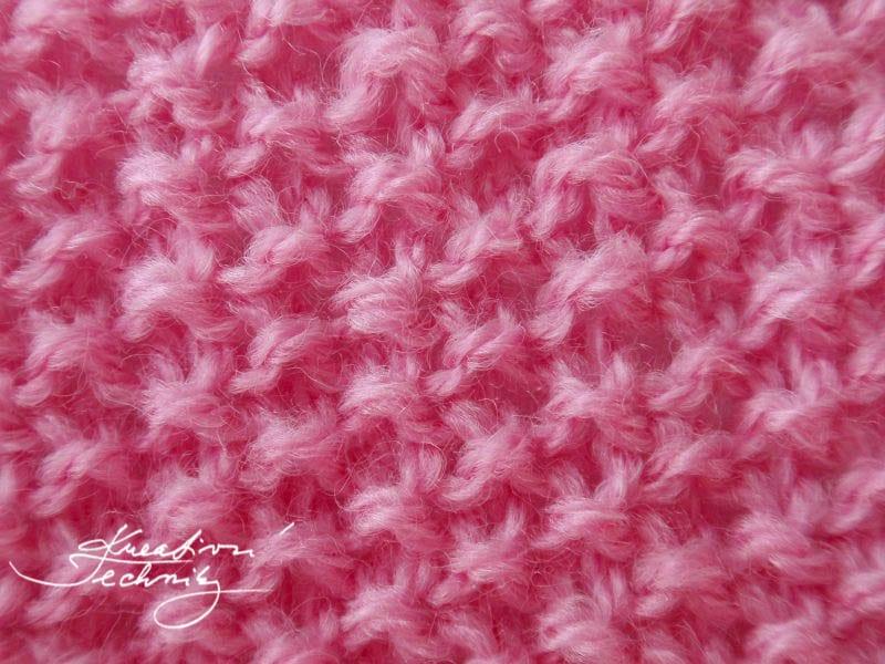 vzory na pletení - Hráškový vzor. Vzory na ruční pletení.