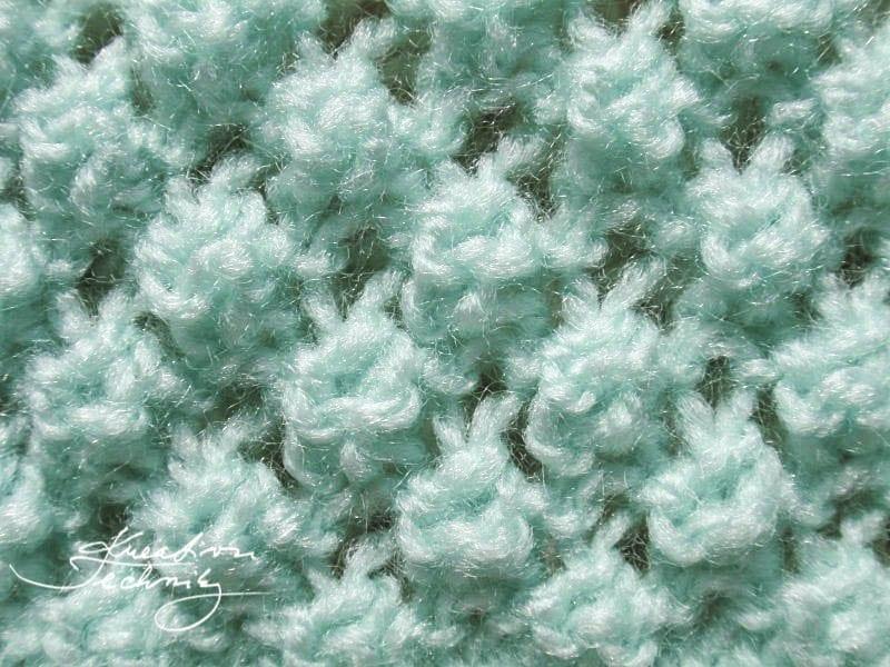 vzory na pletení - Růžičkový vzor. Vzory na ruční pletení.