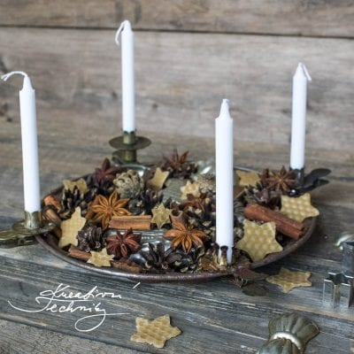 Nontraditional Advent wreath