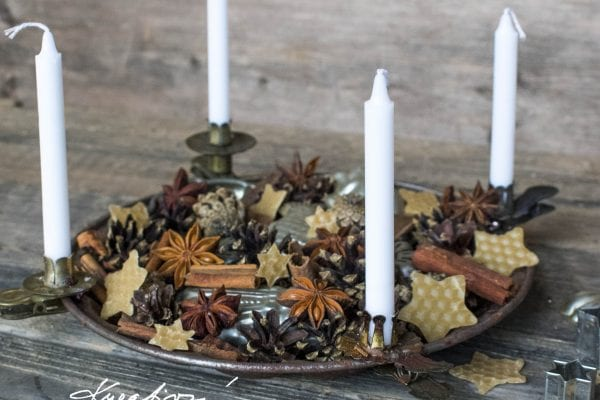 Nontraditional Advent wreath