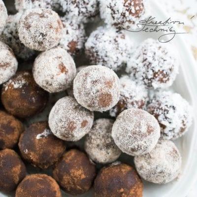 Rumové kuličky: nepečené vánoční cukroví