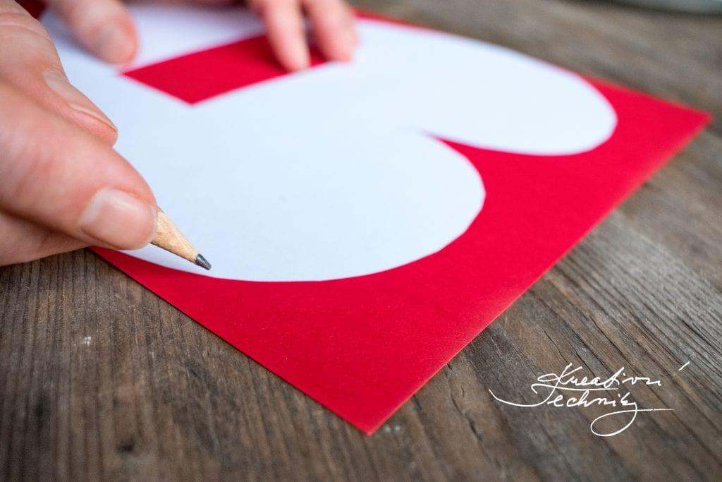 Valentýn, DIY, valentýnské tvoření, srdce šablona, valentýnská dekorace na stůl, DIY dekorace