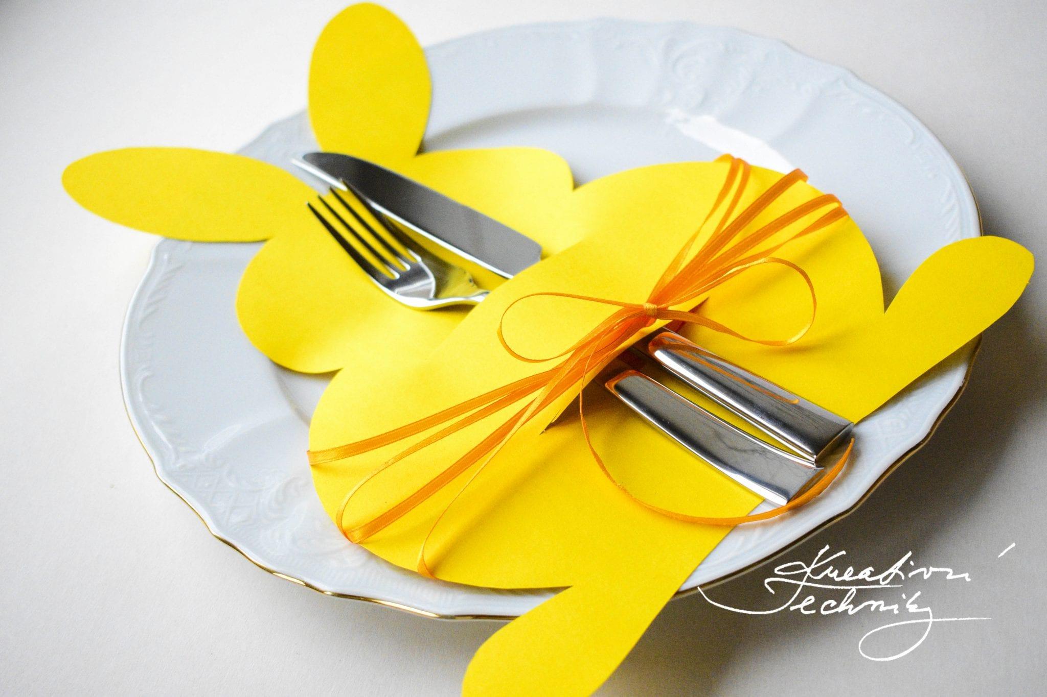 Velikonoční tvoření s dětmi. Dekorace na Velikonoce. Výzdoba na Velikonoce. Velikonoční dekorace, Velikonoční zajíček. Dekorace na stůl. Kreativní tvoření.