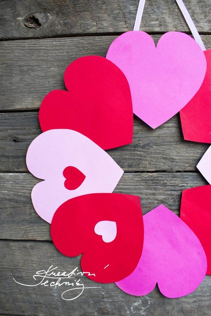 Kreativní tvoření DIY, valentýnská dekorace, Valentýn, dekorace na Valentýna, svatý Valentýn