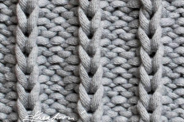 Vzory na pletení č. 4: pruhovaný vzor