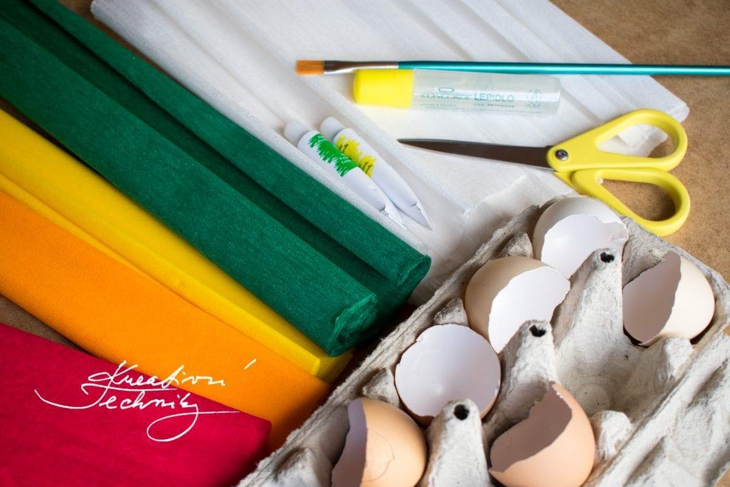Velikonoční dekorace. Velikonoční dekorace z papíru. Jarní dekorace. Velikonoční dekorace vajíčka. Velikonoční aranžmá. Levná velikonoční dekorace. Výroba velikonoční dekorace. Výroba jarní dekorace.