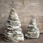 Výrobky z papíru. Tvoření z papíru. Vyrábění z papíru. Skládání z papíru. Vánoční ozdoby z papíru. Vánoční stromek z papíru. Vánoční výzdoba z papíru. Vánoční stromeček z papíru. Vánoční dekorace z papíru. Papírové stromečky. Papírový stromeček.