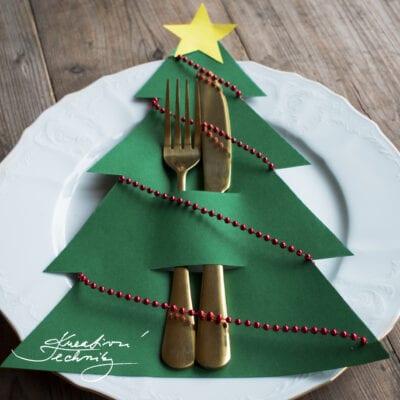Tvoříme s dětmi vánoční dekorace na stůl