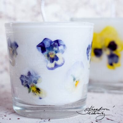 Dekorativní svíčky ve sklenici: DIY