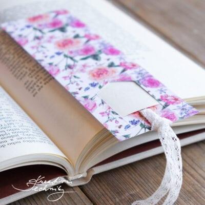 Záložka do knihy: DIY návod