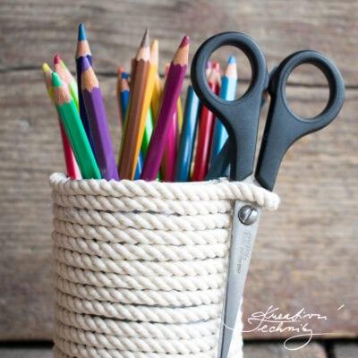 Stojánek na tužky: DIY