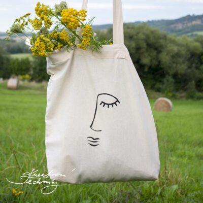 Plátěná taška s vlastním potiskem: DIY návod