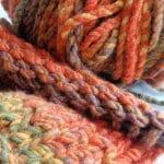 Návod na pletení, pletená šála návod