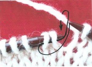 2 oka splést hladce, vzory na ruční pletení,vzory na pletení, pletené vzory, vzory na pletení zdarma, vzory pro ruční pletení, ruční práce, návod, popis, postup