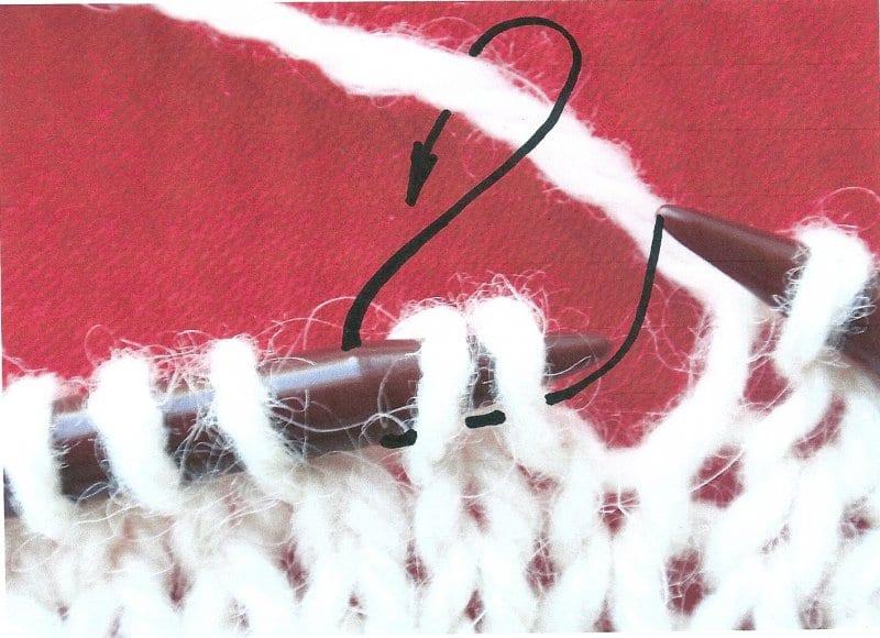 2 ok splést anglicky, vzory na ruční pletení,vzory na pletení, pletené vzory, vzory na pletení zdarma, vzory pro ruční pletení, ruční práce, návod, popis, postup